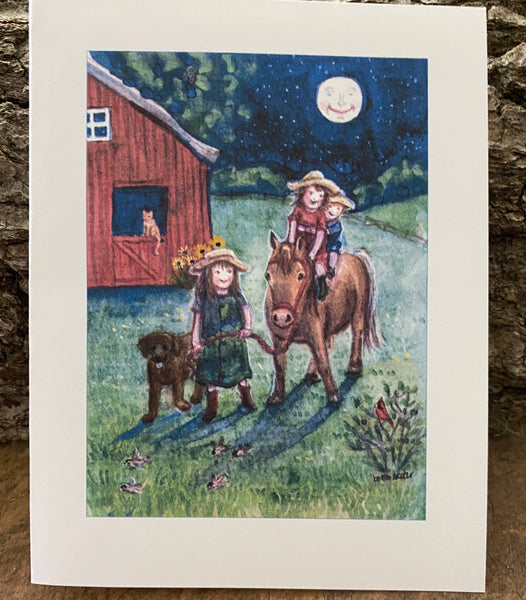Full Moon Ride- Card
