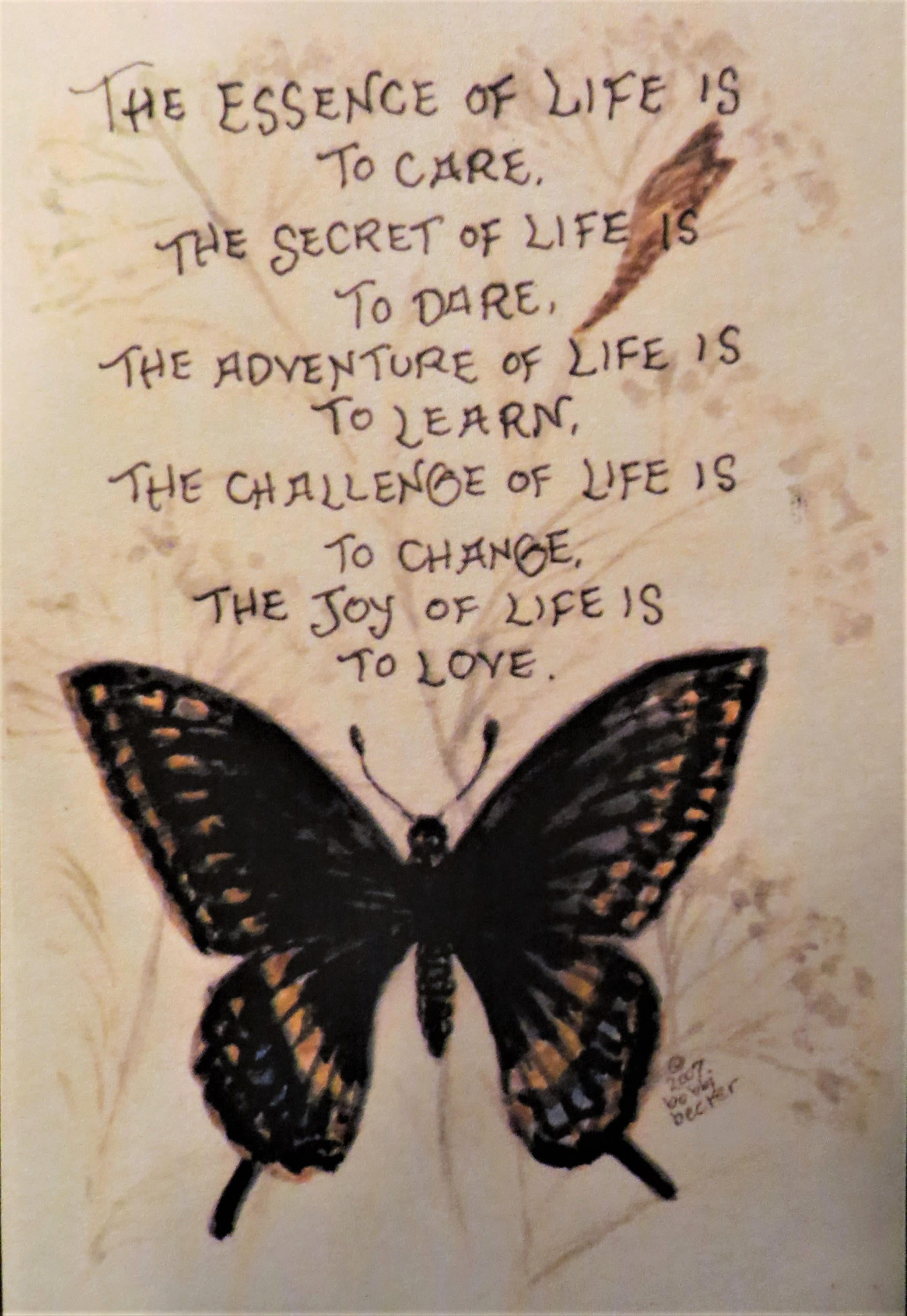 great quote, butterfly, inspiring quote, bobbi becker