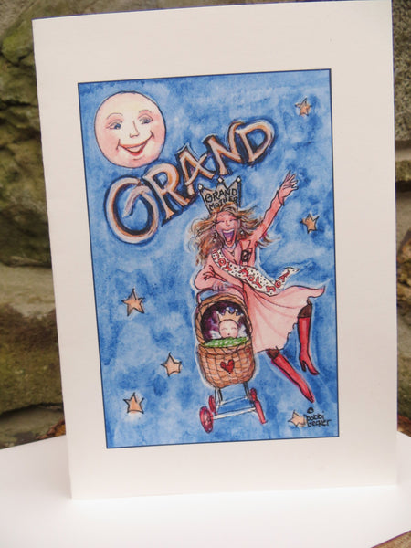 """Grand"" Card by bobbi becker"
