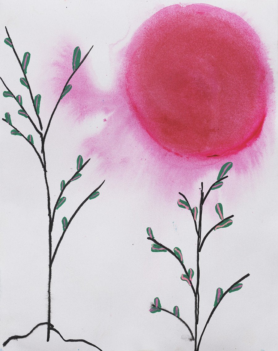 Pink Super Moon Archival Giclee Print