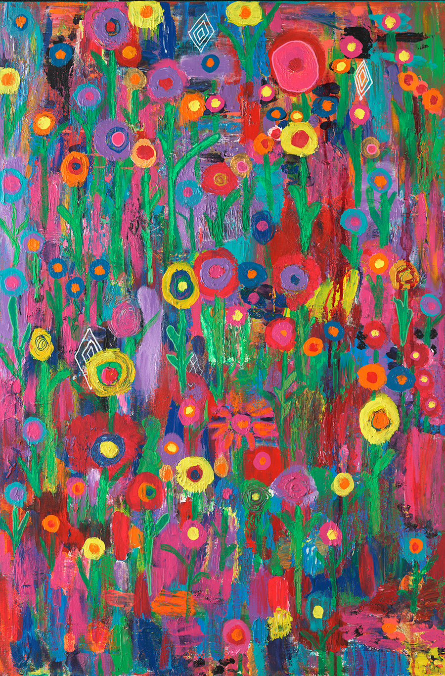 "Color My World 24""x30"" Original Painting (Total $1500)"