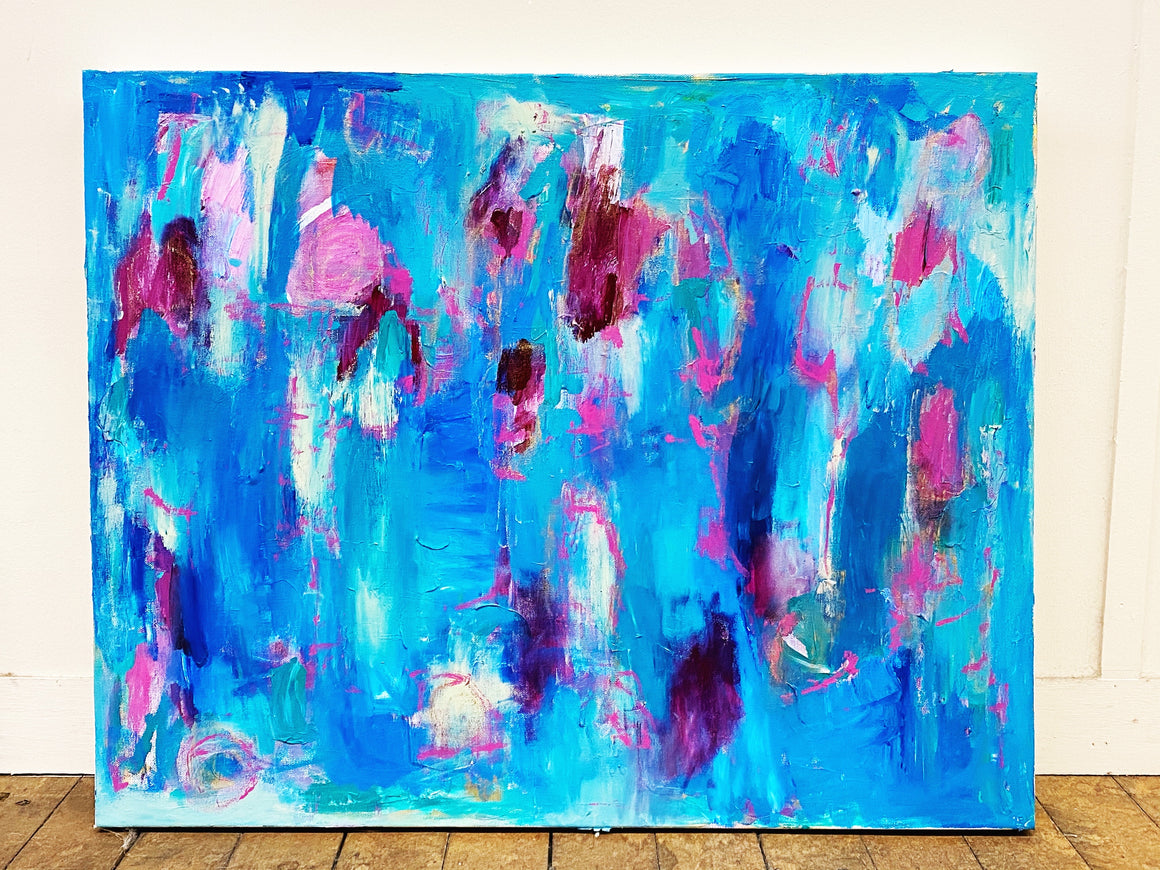 "Rise Up 24""x30"" Original Painting on Canvas"