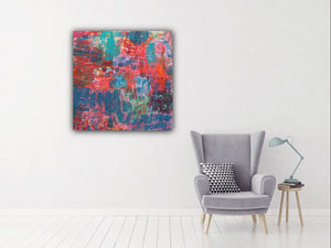 Abstract Color Love Archival Giclee Print