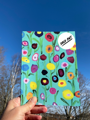 SOLD OUT Floral Joy Journal/Sketchbook