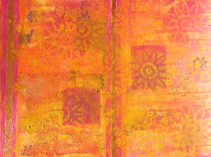 "SALE Moroccan Sunshine 24""x30"" Original Painting on Canvas"