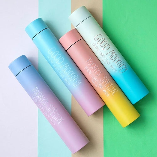 Colour Gradual Sports Water Bottle Flask - Heart Entrepreneurs