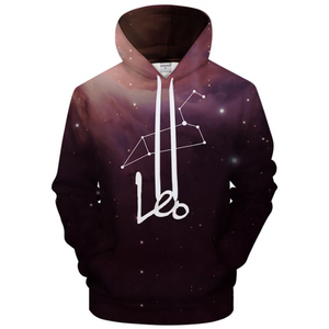 Leo - July 23 to Aug 22 3D Sweatshirt Hoodie Pullover - Heart Entrepreneurs