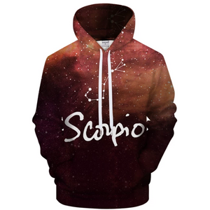 Scorpio - Oct 24 to Nov 22 3D Sweatshirt Hoodie Pullover - Heart Entrepreneurs