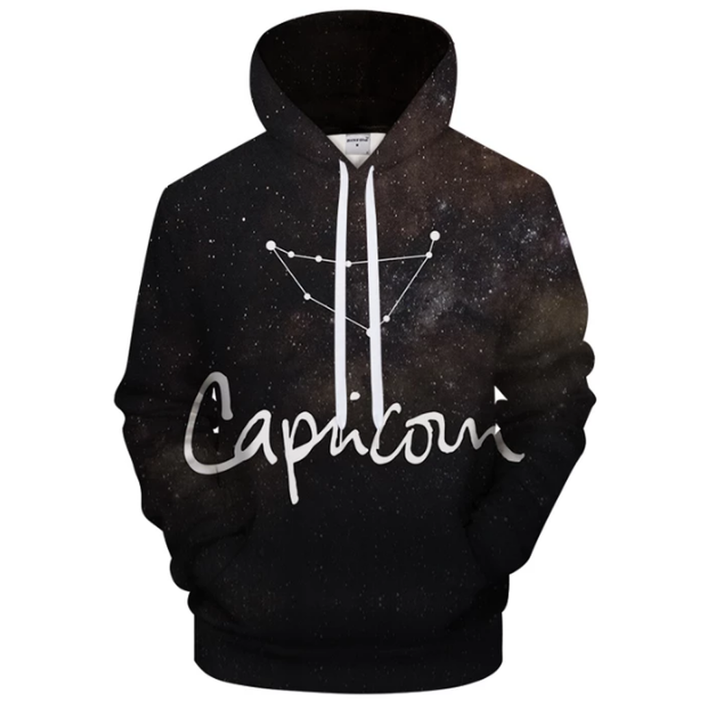 Capricorn - Dec 22 - Jan 19 3D Sweatshirt Hoodie Pullover - Heart Entrepreneurs