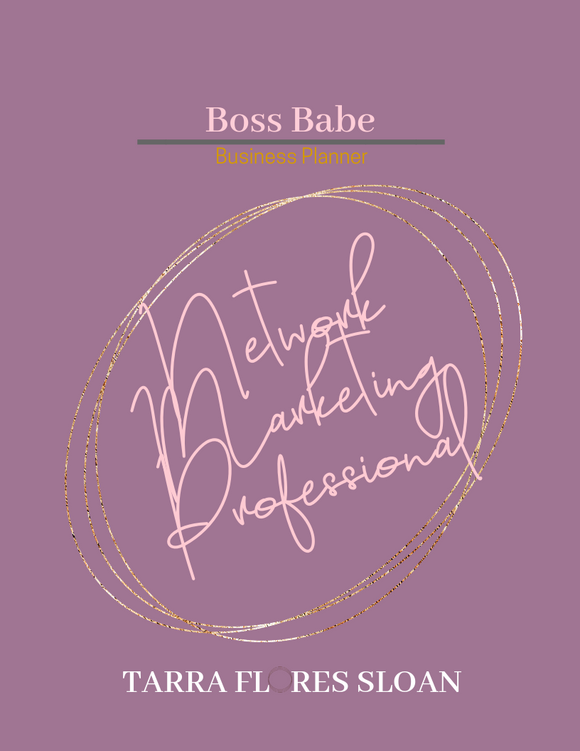 Boss Babe Business Planner by Tarra Flores Sloan