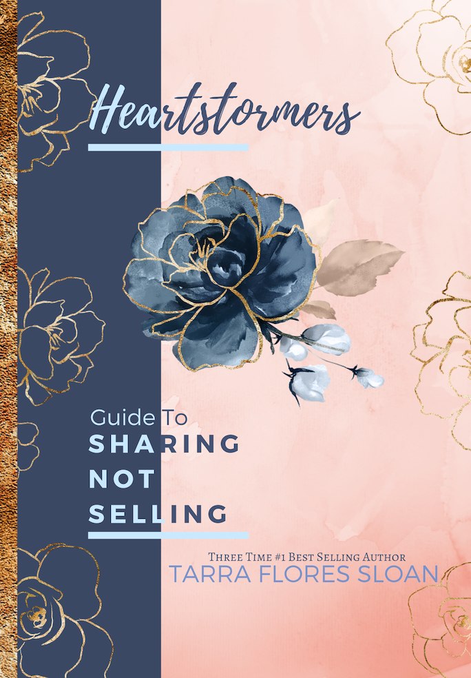 Sharing Not Selling By Tarra Flores Sloan - Heart Entrepreneurs
