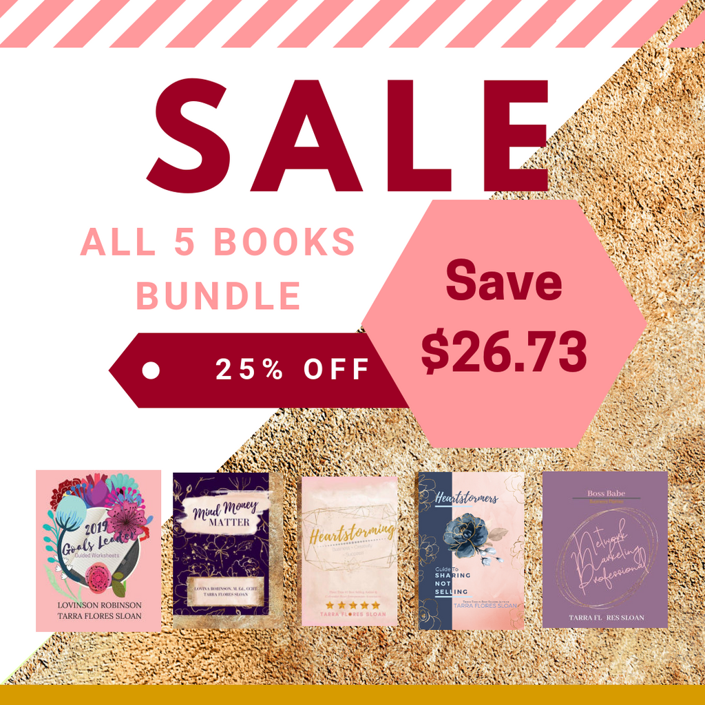 SALE Bundle of 5 Books! OFFER Expires December 15, 2018 - Heart Entrepreneurs