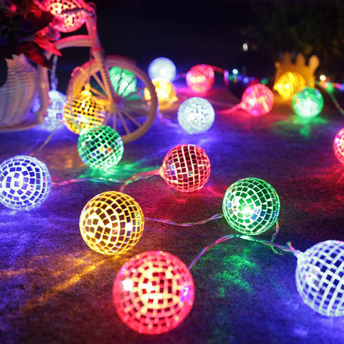 String Lights Moroccan Ball 10/20LED Globe Fairy - Heart Entrepreneurs