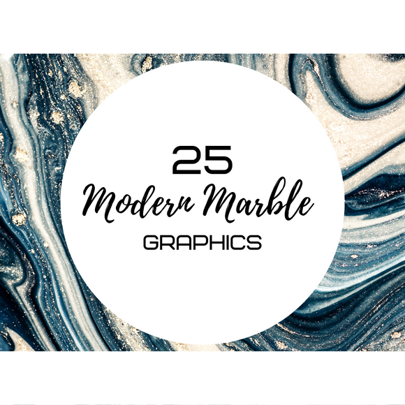 Modern Marble Graphics