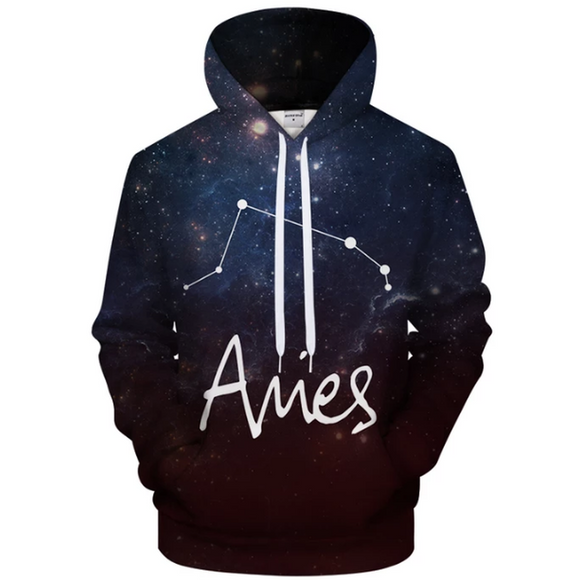 Aries - March 21 to April 20 3D Sweatshirt Hoodie Pullover - Heart Entrepreneurs