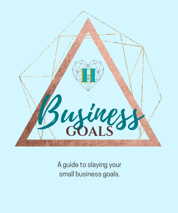 FREE Business Goals Worksheets - Heart Entrepreneurs