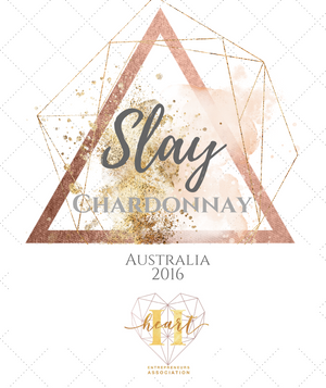 Slay Chardonnay by Heart Entrepreneurs Wine VIP Club - Heart Entrepreneurs