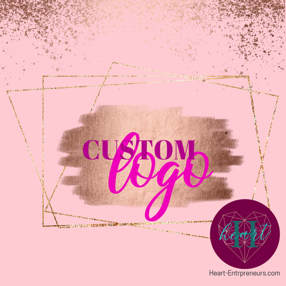Custom Logo Creation - Heart Entrepreneurs