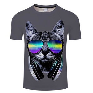 DJ Cat 3D T-Shirt - Heart Entrepreneurs