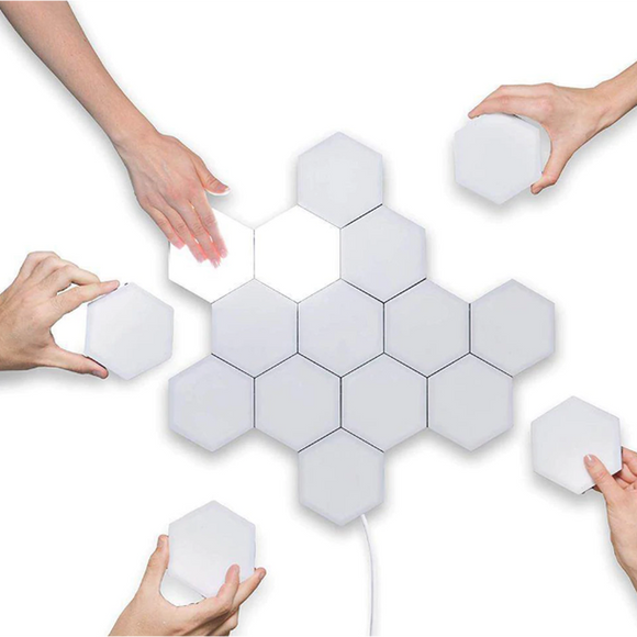 Hexagon lights