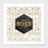 Like a boss Frame - Heart Entrepreneurs