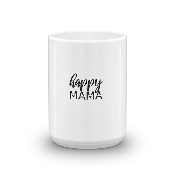 Happy Mama. Heart's Mug