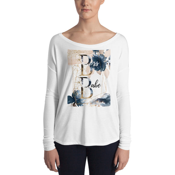 Heartstormer Boss Babe Ladies' Long Sleeve Tee - Heart Entrepreneurs