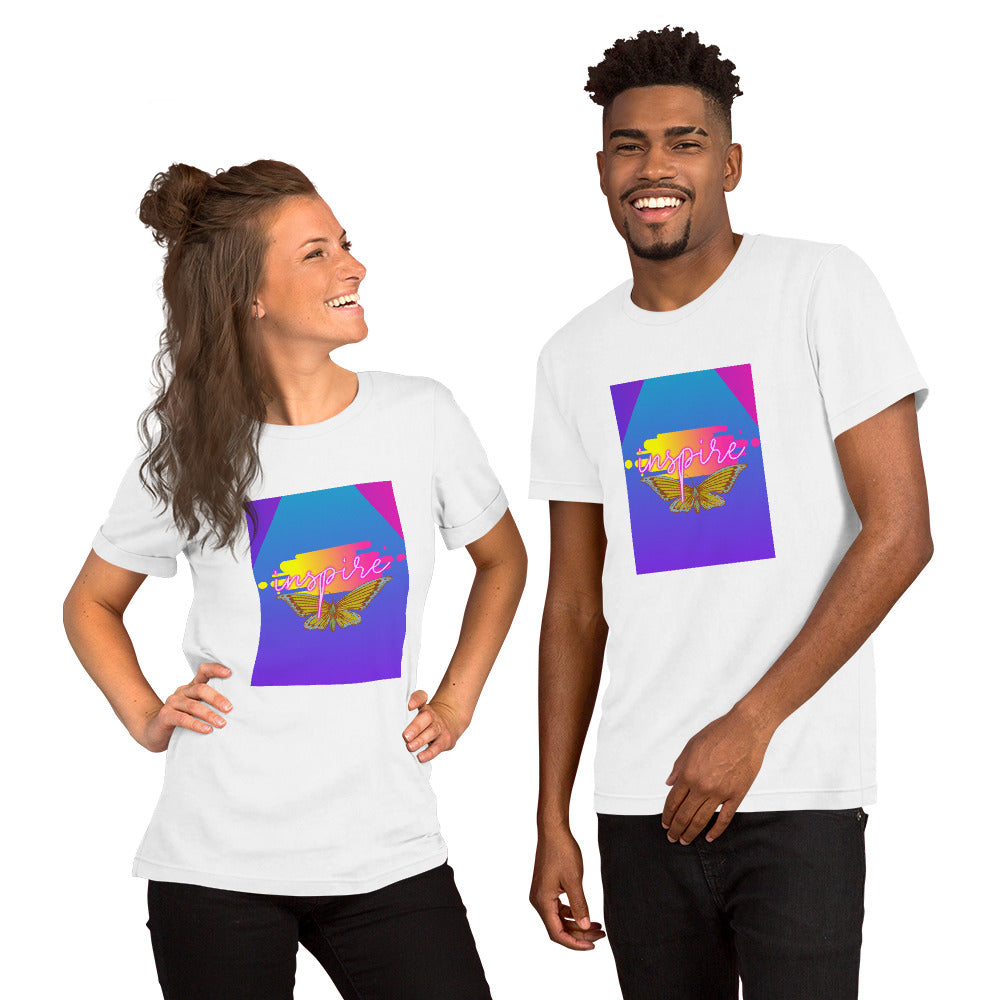Inspire. Heart's Short-Sleeve Unisex T-Shirt - Heart Entrepreneurs