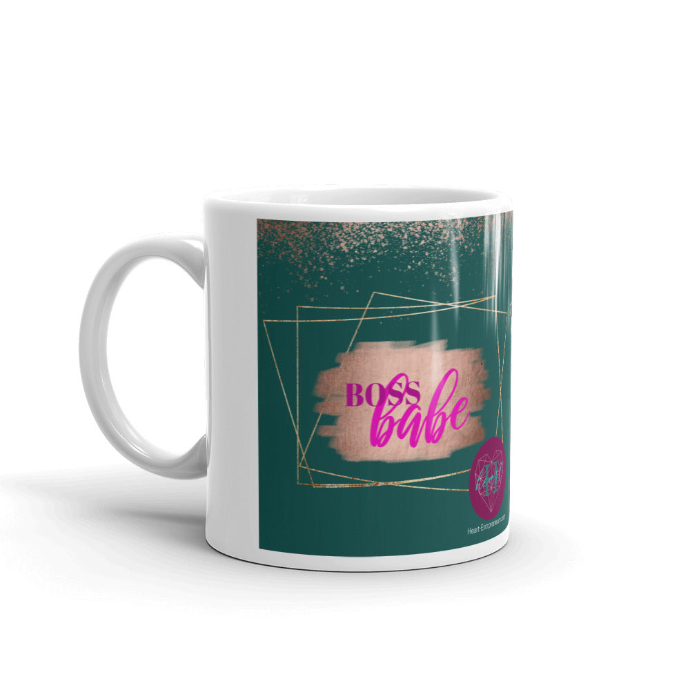 Heartstormers BOSS BABE Mug by Heart Entrepreneurs - Heart Entrepreneurs
