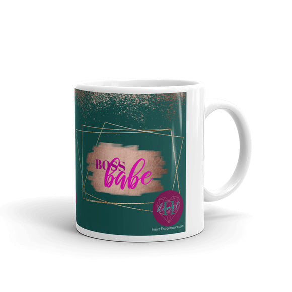 Heartstormers BOSS BABE Mug by Heart Entrepreneurs