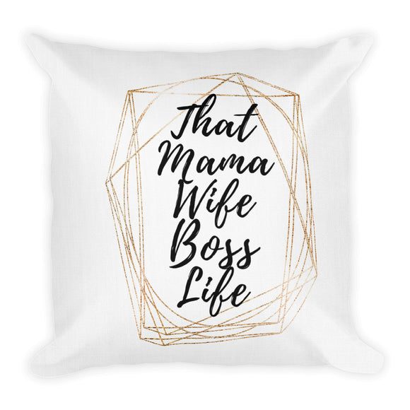 That Mama Wife Boss Life Heartstormers Pillows - Heart Entrepreneurs