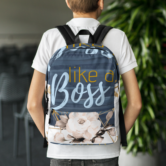 Heartstormer Like A Boss Backpack - Heart Entrepreneurs