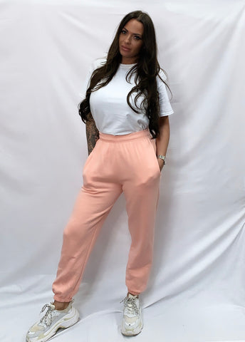 Basic Joggers (Pale Pink)