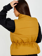 Load image into Gallery viewer, Padded Gilet Camel
