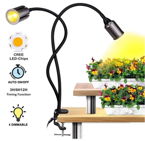 Bozily 75W Sunlike Plant Light with 3/6/12/24H Timer and Dimming Function For Indoor Plants