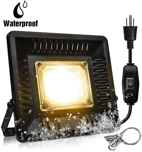 Bozily IP67 waterproof 150W Outdoor/Indoor Plant Grow Lamps