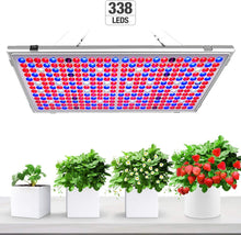 Load image into Gallery viewer, 300W  Full Spectrum Grow Light Panel for Indoor Plants.