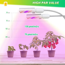 Load image into Gallery viewer, 45W Full Spectrum Grow Light with flexible Gooseneck/ Bozily Grow Light