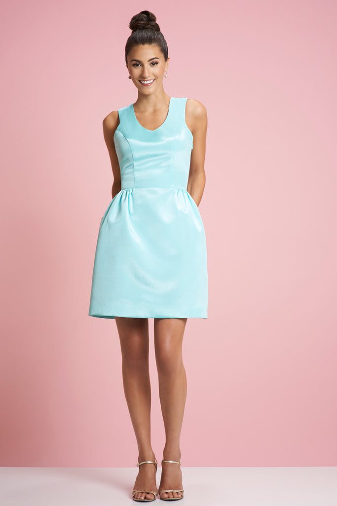 COURTNEY dress - Aqua