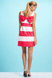 LUCY - Mint, Coral, Pink, Black, Yellow Stripes