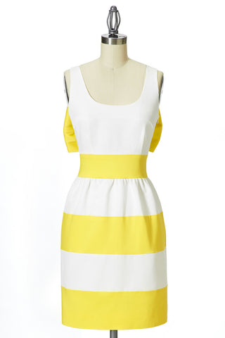 LUCY dress - Yellow