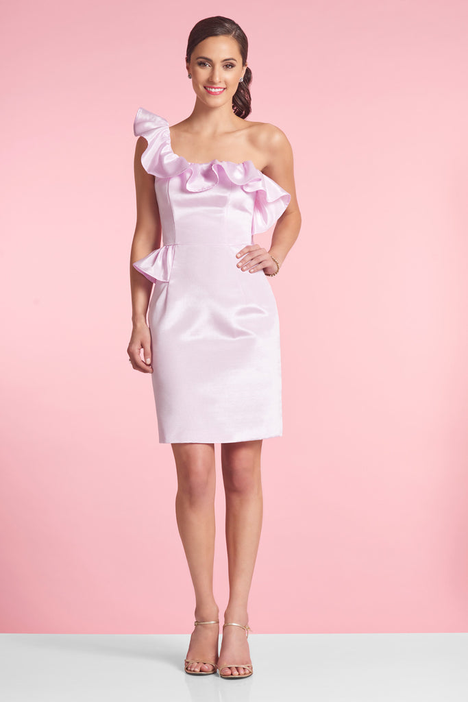 VERITY dress - Orchid Faille