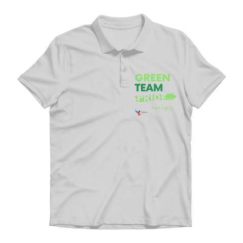 Green Team Premium Adult Polo Shirt