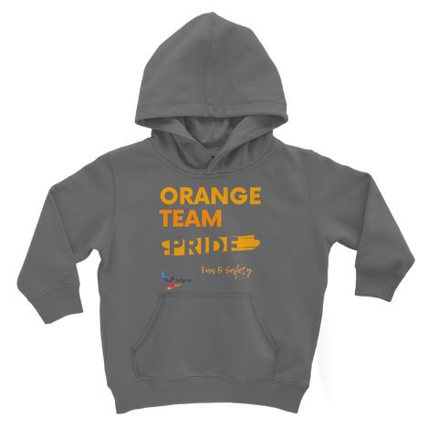 Orange Team Pride Classic Kids Hoodie