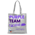 Purple Team Pride Classic Sublimation Tote Bag