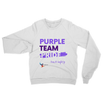Purple Team Pride Classic Adult Sweatshirt