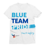 Blue Team Pride Classic Sublimation Women's T-Shirt