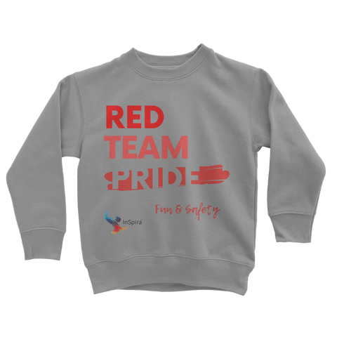 Red Team Pride Classic Kids Sweatshirt