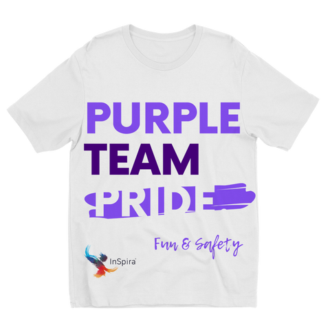 Purple Team Pride Sublimation Kids T-Shirt