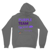 Purple Team Pride Classic Adult Hoodie